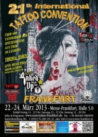 21th international tattoo convention Frankfurt