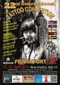 22. Internationale Tattoo-Convention Frankfurt am Main vom 11.-13.04.2014