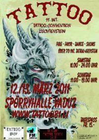 11th int. tattoo convention Liechtenstein