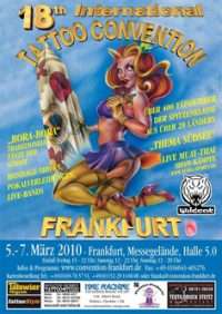18th international tattoo convention in Frankfurt