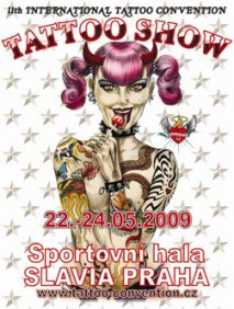 11th internetional tattoo convention in Prague