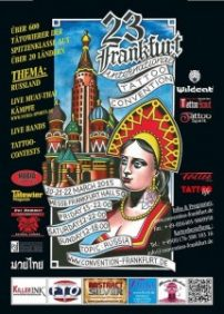 23th Frankfurt tattoo convention