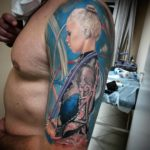 портретная тату